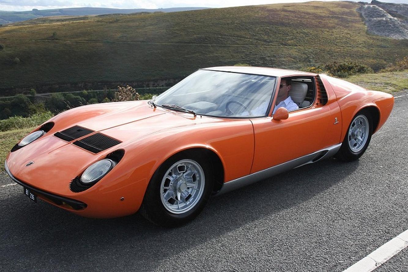 The Italian Job Lamborghini Miura Goes Up For Sale
