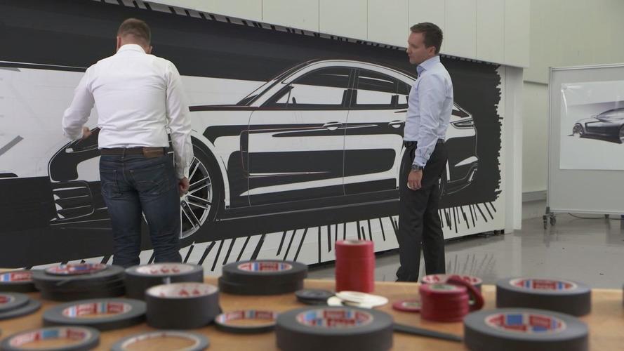 Yeni Panamera'nın tasarım detayları gösterildi