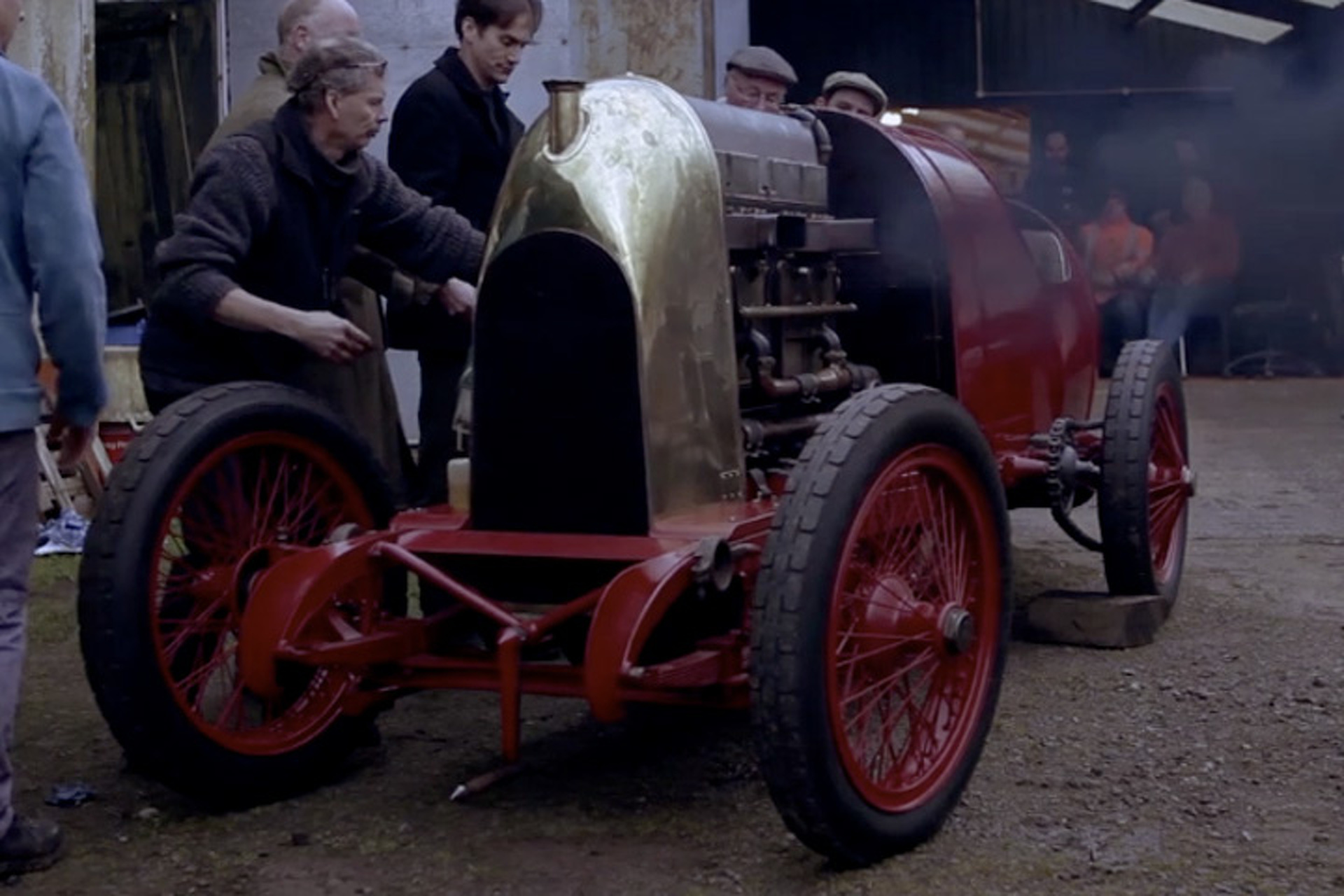 Watch the Huge 28.5-liter Fiat 'Beast of Turin' Fire Up