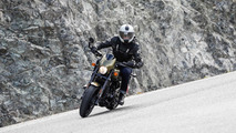 Harley Davidson Street Rod on Spain's Ronda Road
