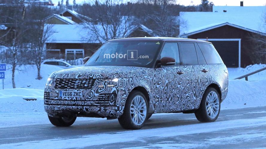 2018 Range Rover Plug-in Hybrid kış testinde görüntülendi