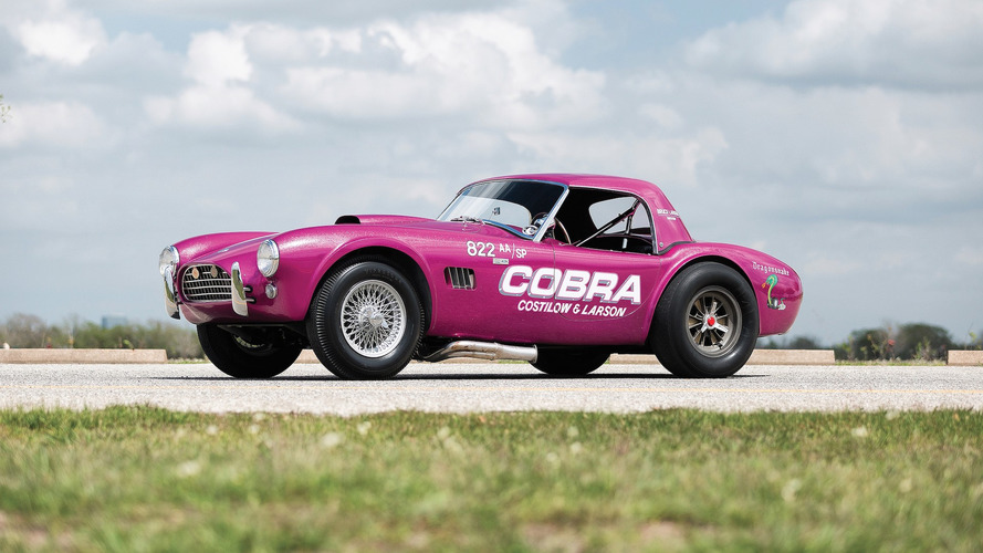 Rare Shelby Cobra 'Dragonsake' Could Go For $1.7M At Auction