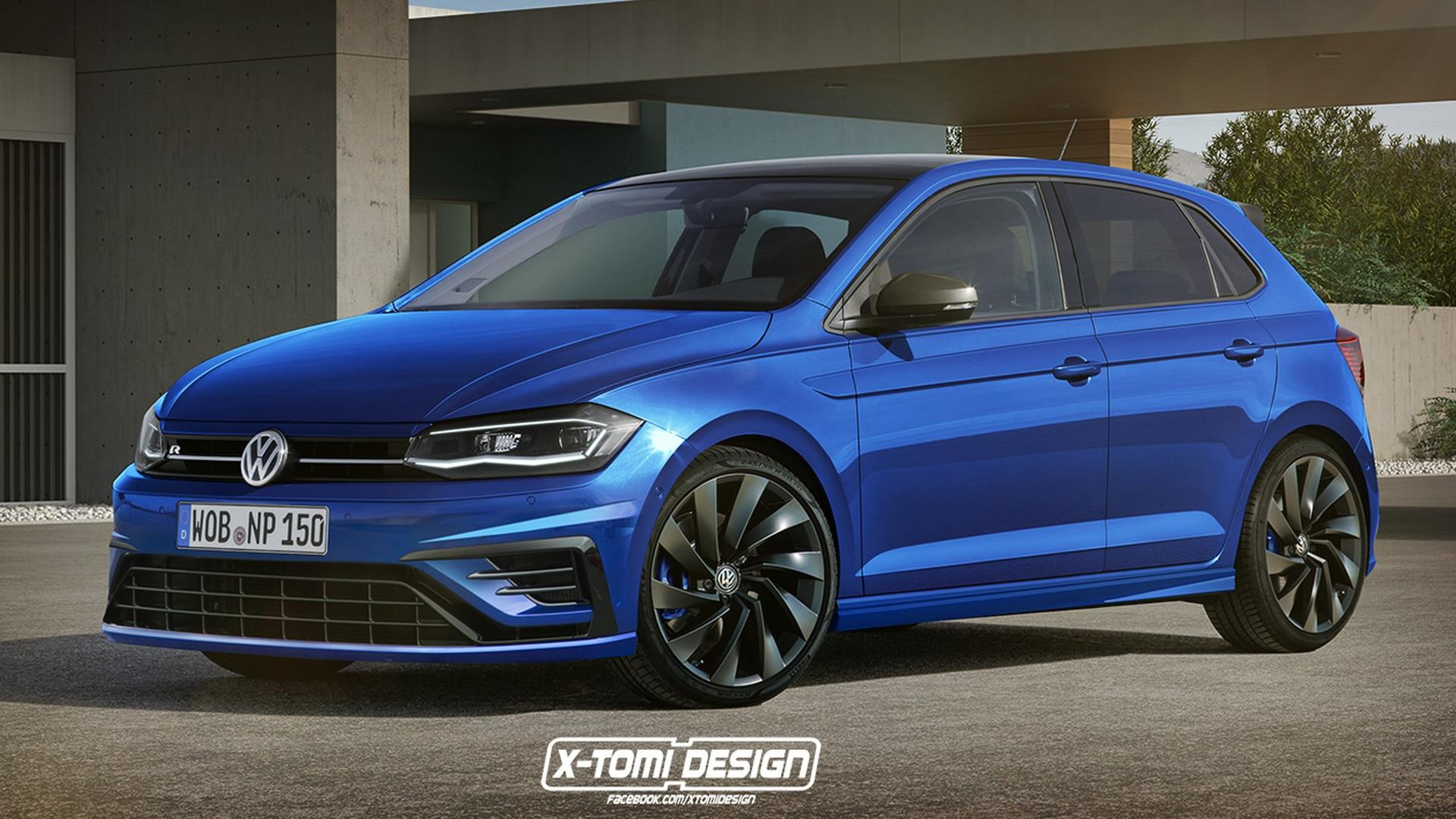 vw polo r and polo gti cabrio imagined in the digital realm. Black Bedroom Furniture Sets. Home Design Ideas