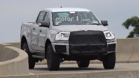 Raptor Variant Of Ford Ranger Possibly Spied Testing