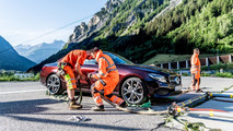 2018 Mercedes-Benz E-Class Cabriolet on Mont Blanc