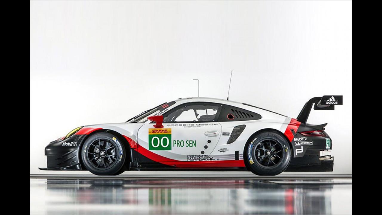Porsche: Röhrl, Haywood und Herrmann wieder da