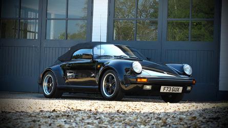 Une Porsche 911 Speedster comme neuve à vendre aux enchères