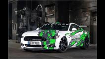 Wilder Hochleistungs-Mustang