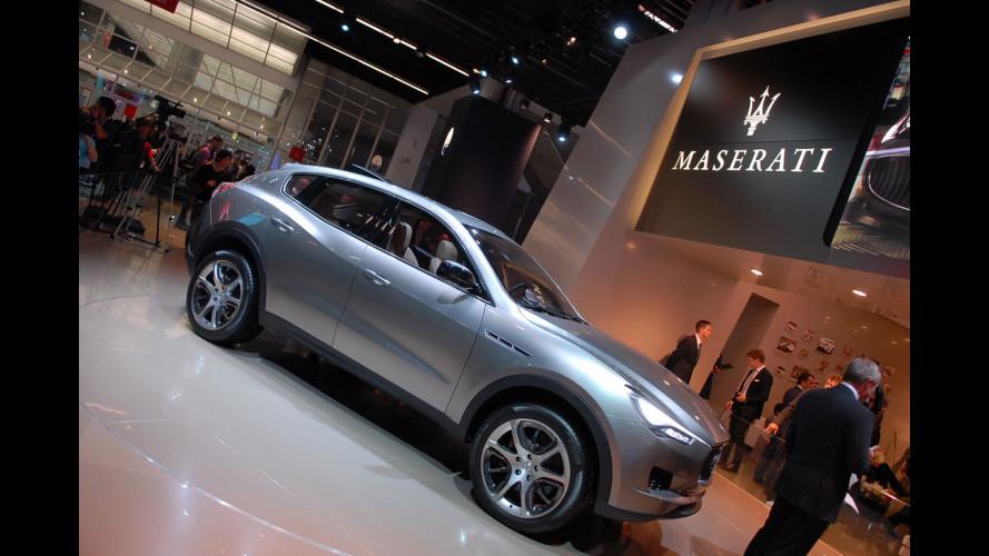 Maserati Kubang, il primo video