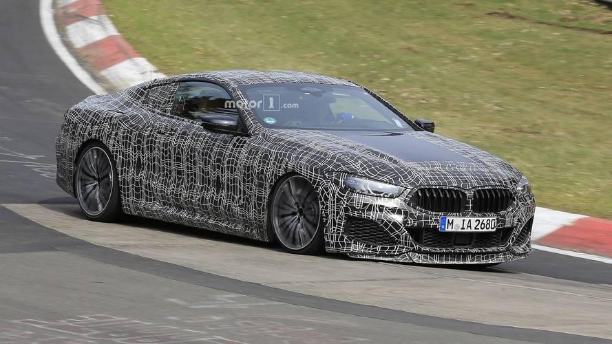 Photos espion - La BMW Série 8 en plein essai sur le Nürburgring