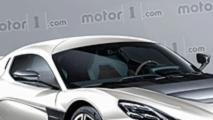 Porsche Rimac supercar