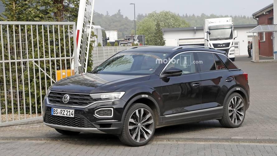 VW T-Roc R Yeni Casus Fotoğraflar