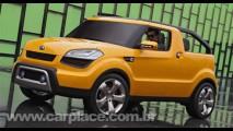 Surge a primeira imagem que revela o Kia Soulster Concept por inteiro