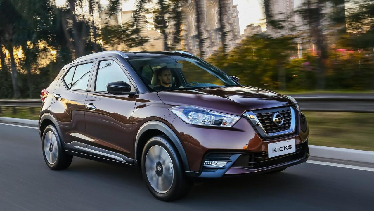 Nissan Kicks SL (divulgação)