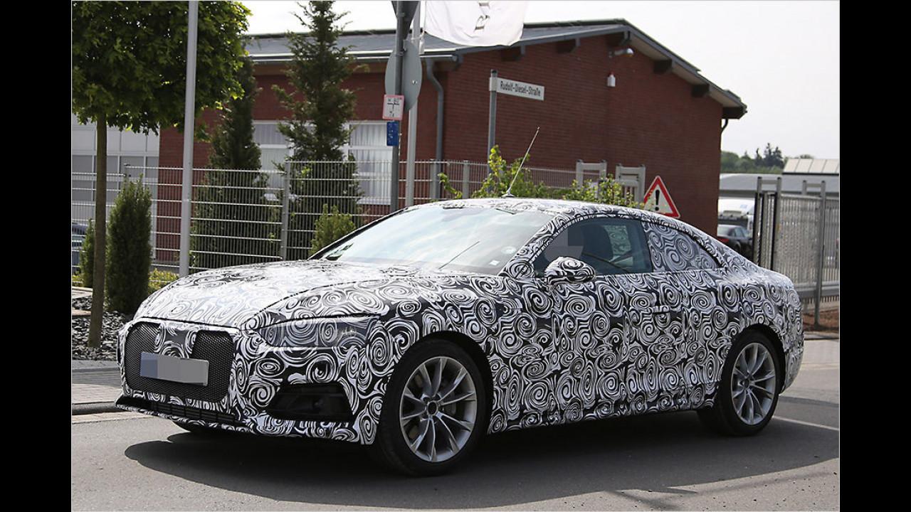 Audi A5- und S5-Erlkönig