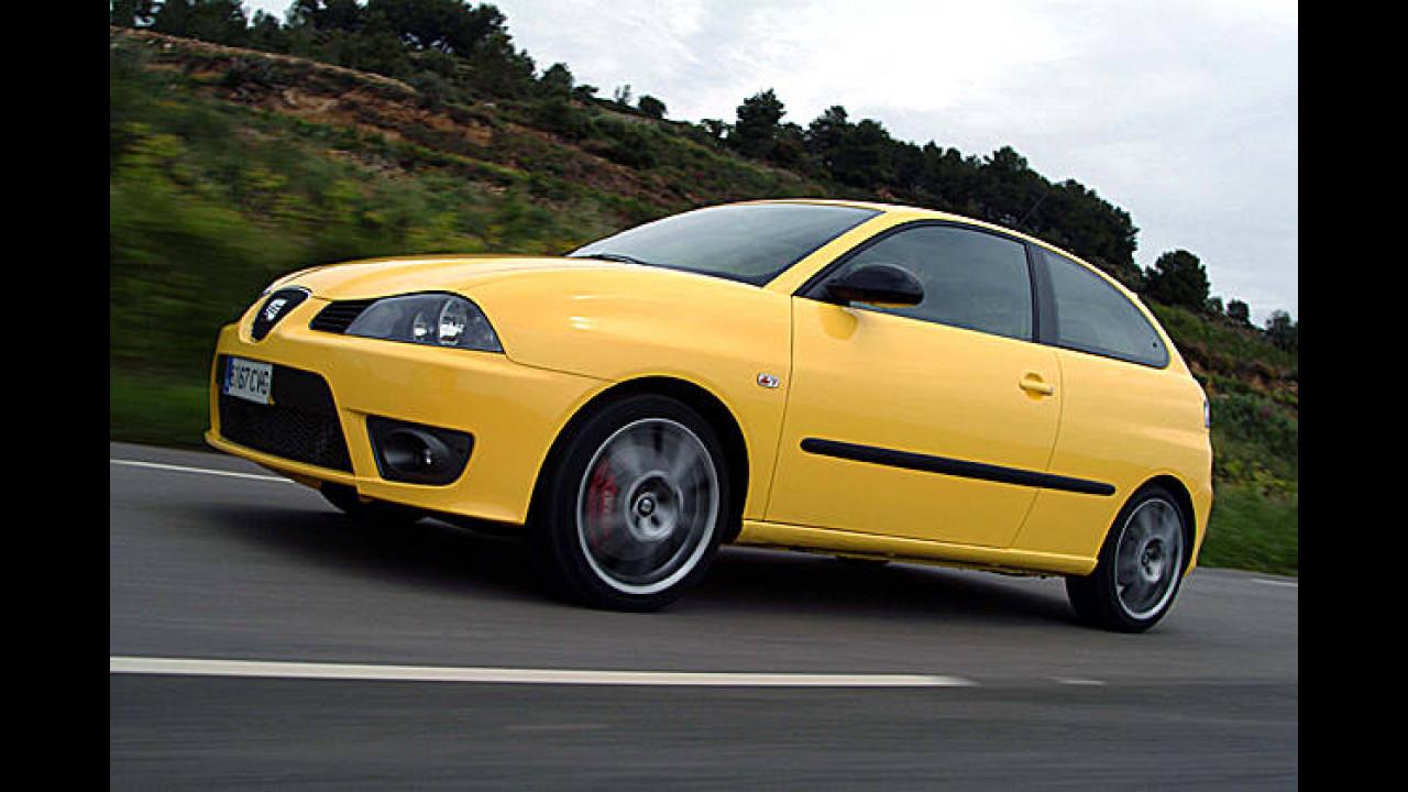 Platz 16: Seat Ibiza 1.8 20V T Cupra
