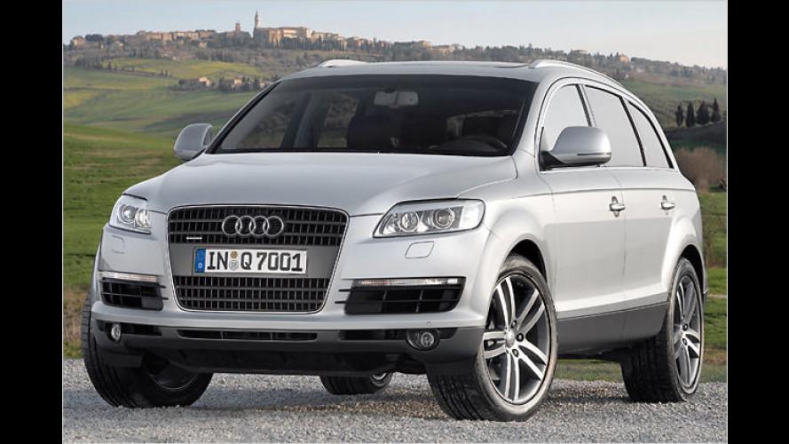 Audi Q7 4.2 TDI: Das stärkste Diesel-SUV rollt an den Start