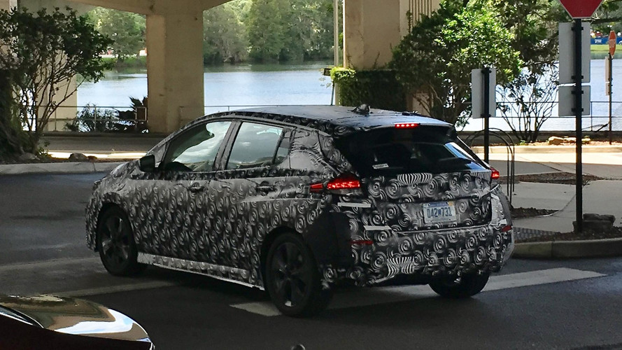 Floridában bukott le a 2018-as álcázott Nissan Leaf prototípus