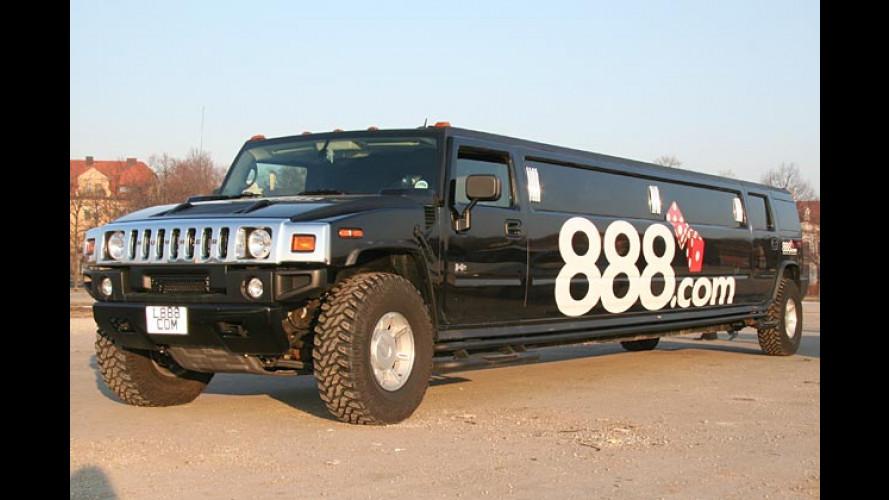 Giga-langes Spiel-Mobil: Wenn der große Hummer kommt