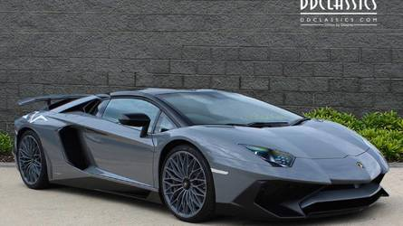 Eladó az utolsó legyártott Lamborghini Aventador SV Roadster