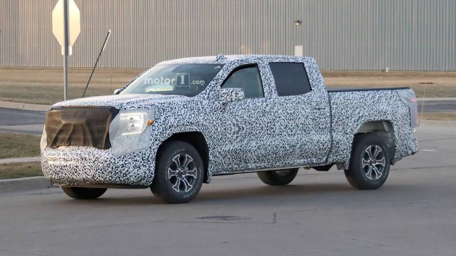 GMC Sierra Spied Again Ahead Of March 1 Debut