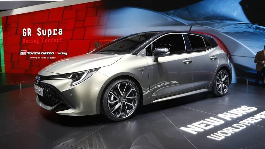 Genève 2018 - La Toyota Auris fait sa révolution