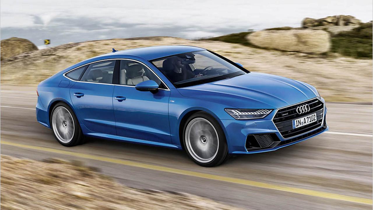 Audi A7 Sportback: Audiosystem von B & O