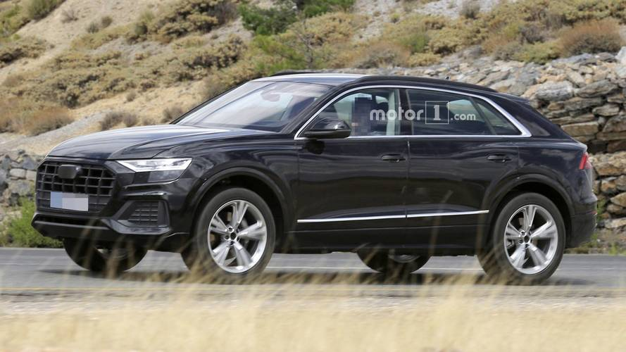 Photos espion - L'Audi Q8 surpris à découvert !