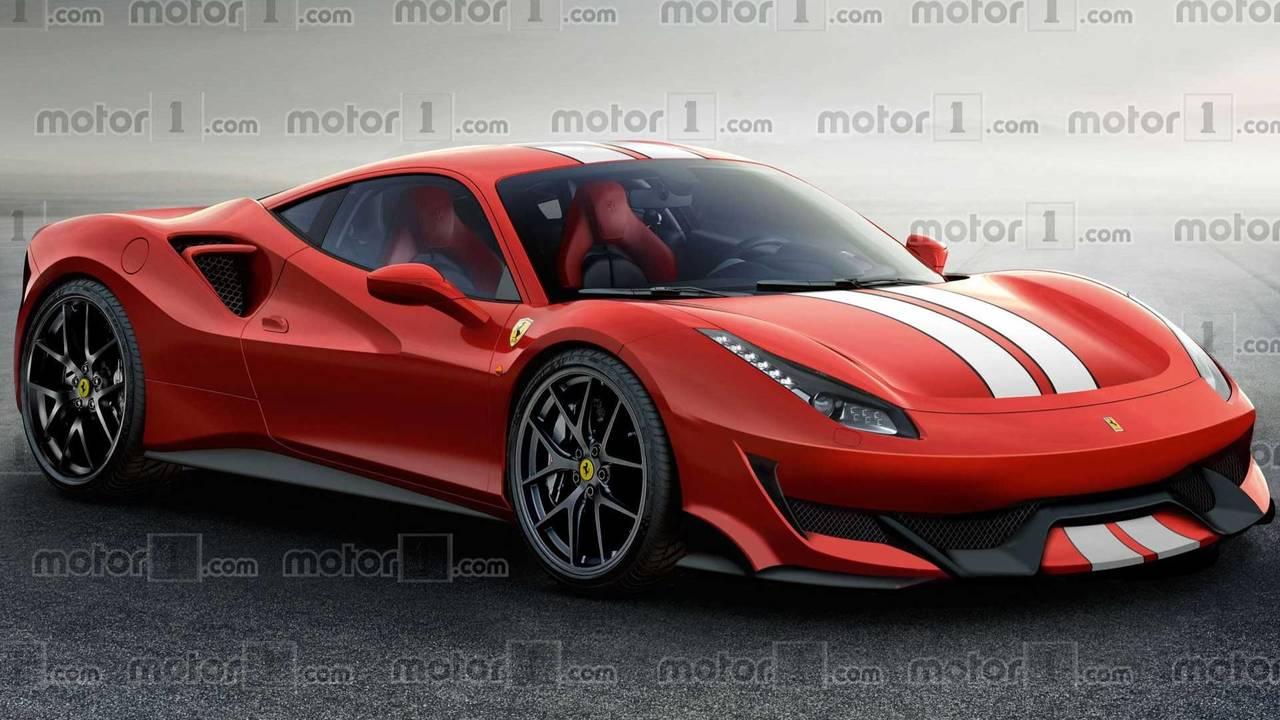 Ferrari 488 Sport Special Series Render