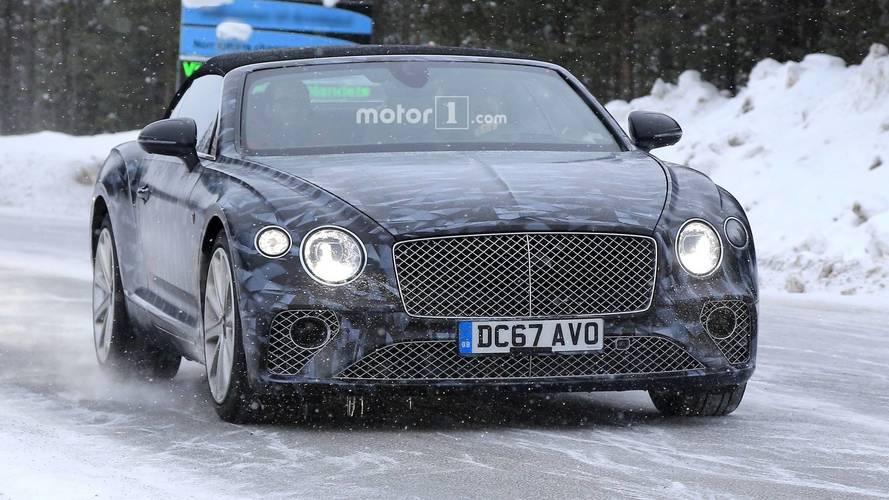 2019 Bentley Continental Gtc New Spy Photos Motor1 Com