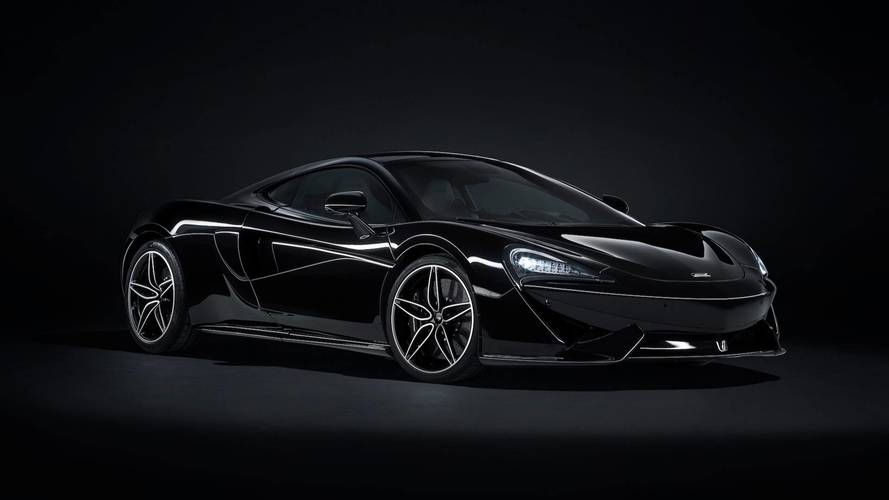 McLaren 570GT MSO Black Collection Is Obviously Very Black