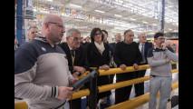 FCA, la Sindaca di Torino e il presidente della Regione a Mirafiori