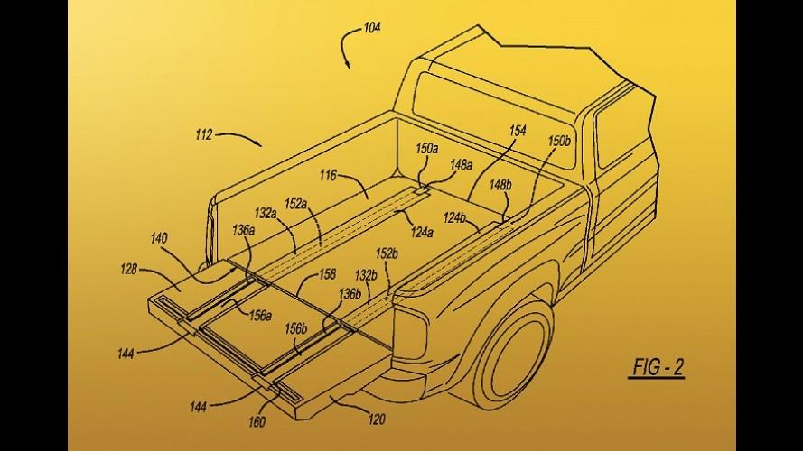 RAM registra patente de picape com rampas integradas à caçamba