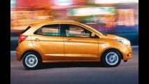 Novo Ka é lançado na Índia com câmbio PowerShift e ar digital - veja fotos