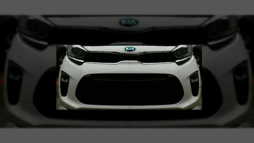 La face avant de la nouvelle Kia Picanto 2017 en fuite