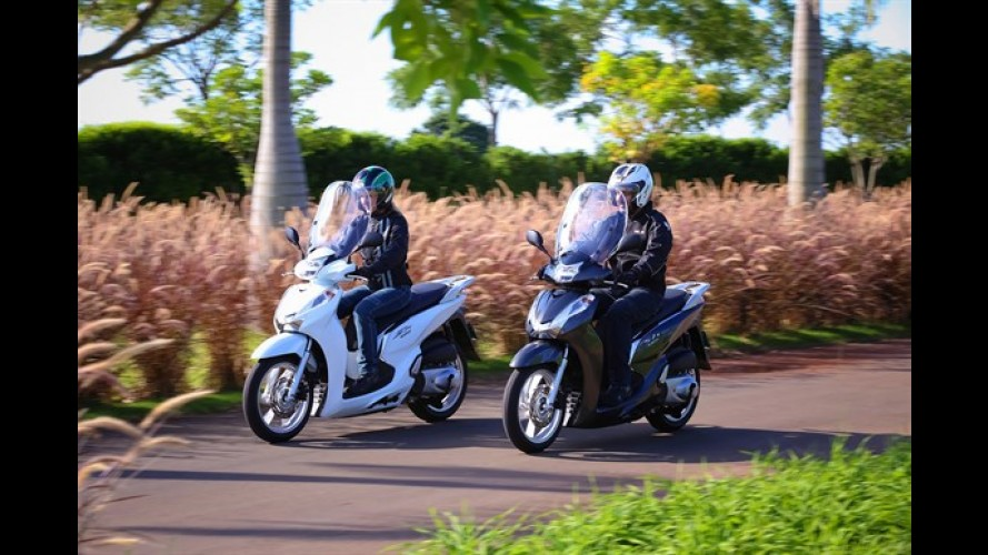Honda SH300i chega neste mês com preço entre R$ 23 mil e R$ 24 mil