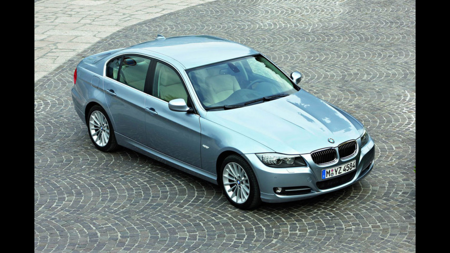 BMW Serie 3 restyling in arrivo