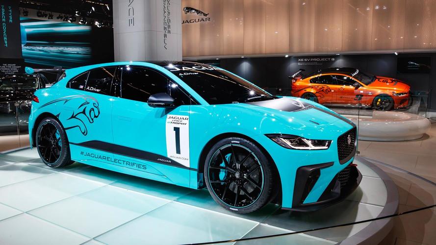 Jaguar I-Pace, 2018'de Formula E'ye destek serisi aracı olacak