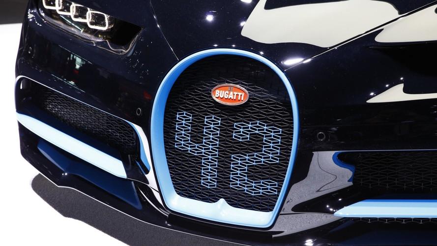 Bugatti Chrion Frankfurt