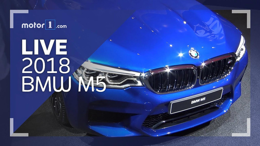 2018 BMW M5 Live Look