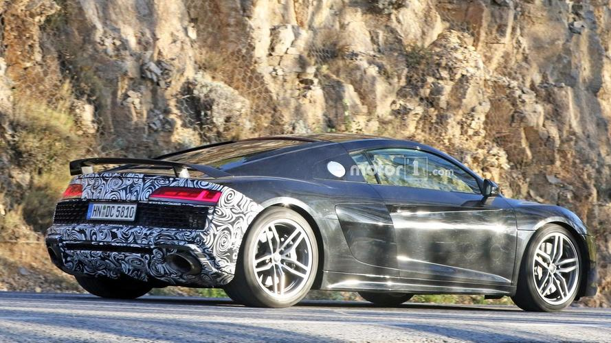 Az Audi tovább fokozza az R8 V10 Plus teljesítményét?