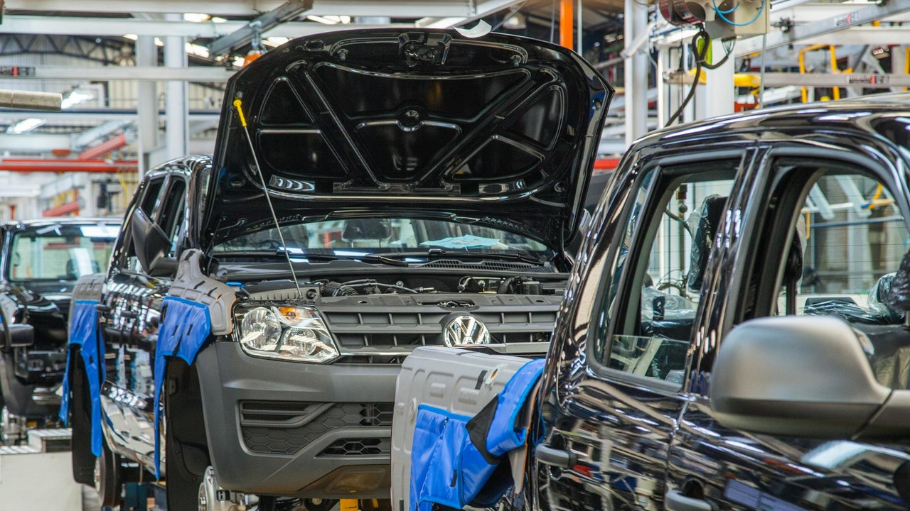 VW Amarok assembly in Ecuador