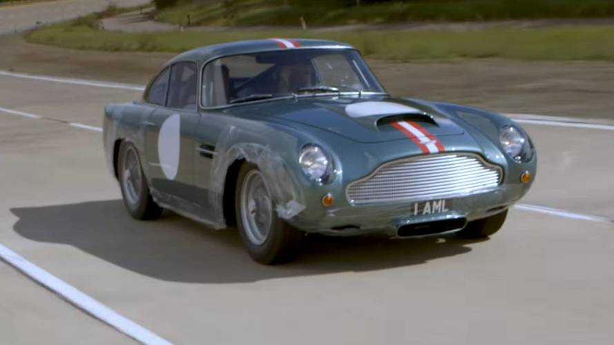 VIDÉO - Premiers tours de roue pour l'Aston Martin DB4 GT neuve !