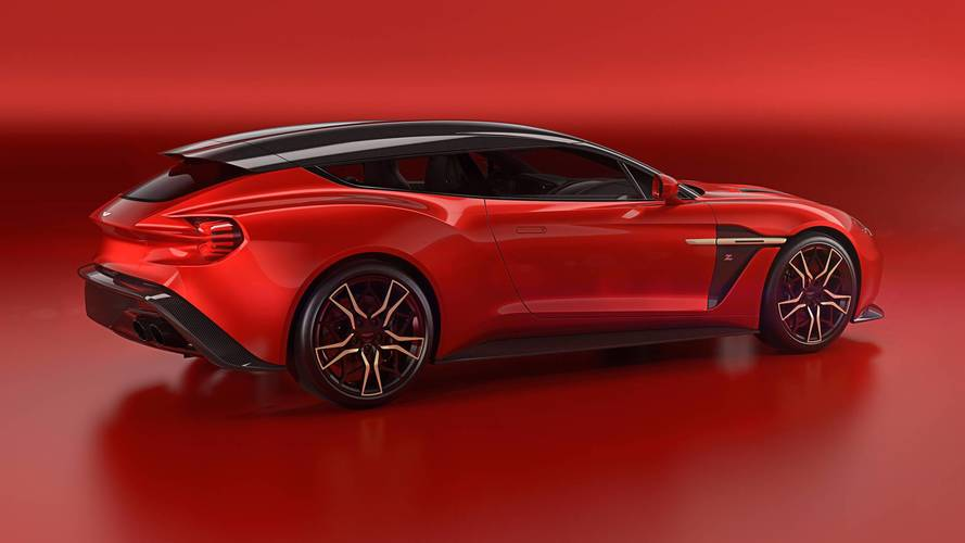 Le break de chasse Aston Martin Vanquish Zagato en montre plus !