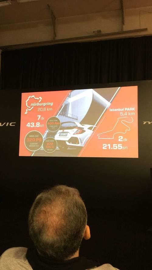 Honda Civic Type R - Türkiye Lansmanı