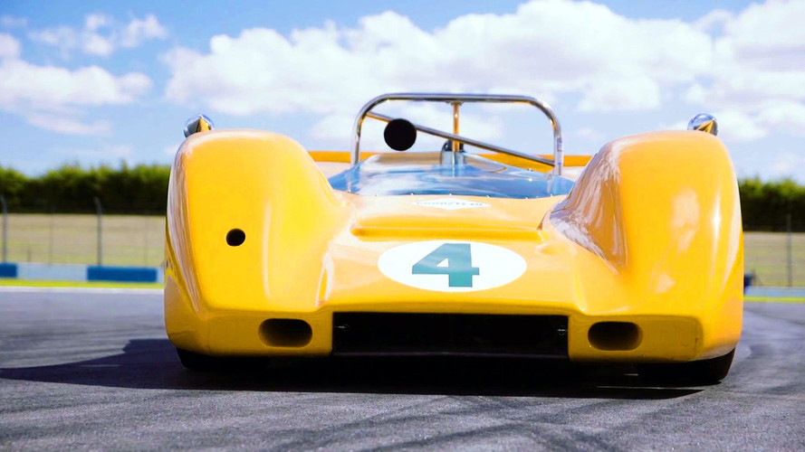 Bruce McLaren's Can-Am Conquering M6A Let Loose For 50th Birthday