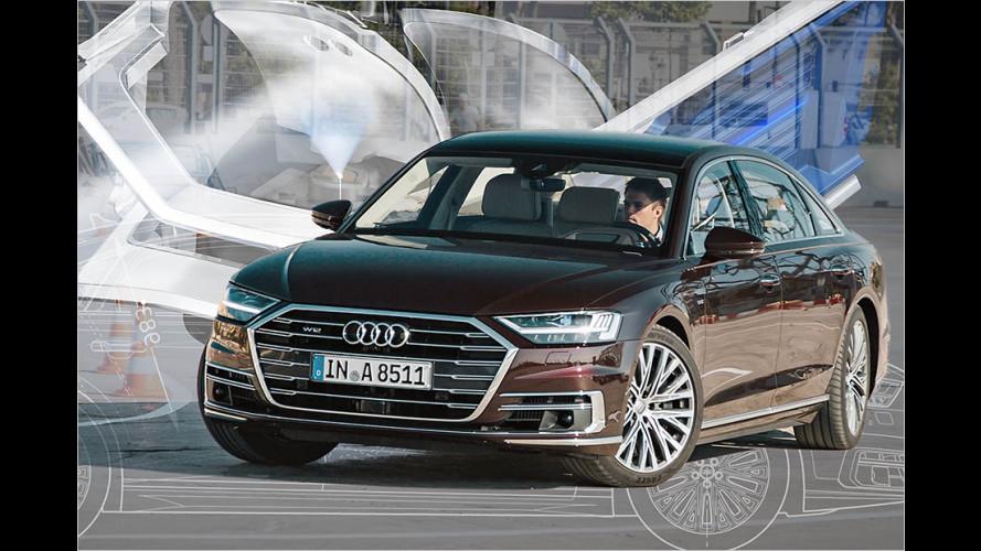 Die besten neuen Technik-Features des Audi A8 (2017)