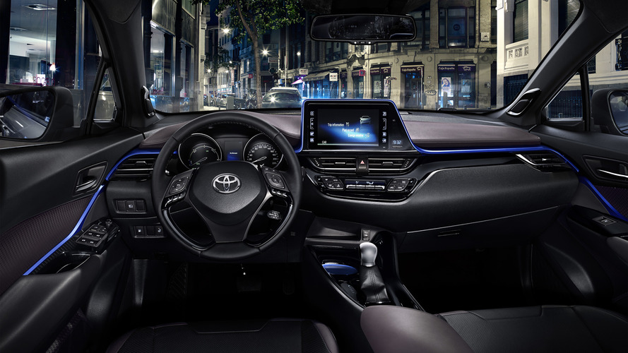 Toyota C-HR interior revealed