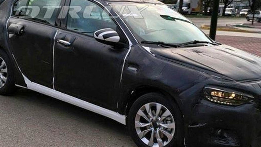 Fiat Tipo hatch spied with production body for the first time