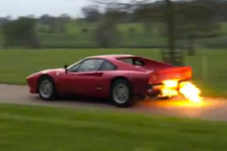Video: Ferrari 288 GTO Shooting Flames